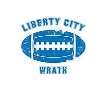 Liberty City Wrath Photographic Print