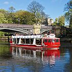 Pleasure Boat @ York by John (Mike)  Dobson