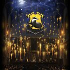 Hufflepuff Great Hall - iPad 2 by Serdd