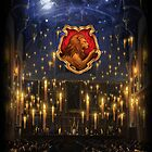 Griffindor Great Hall - iPad 2 by Serdd