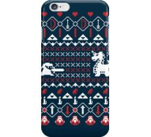 Its Dangerous To Go Alone At Christmas iPhone Case/Skin