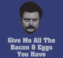 Bacon and Eggs by Alsvisions