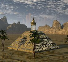 Great Pyramid of Appolonia by Sazzart