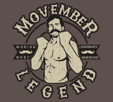 Movember Legend by DCVisualArts