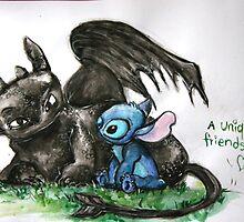 A Unique Friendship by beabubblemilo