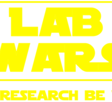 Lab Wars (yellow) Sticker