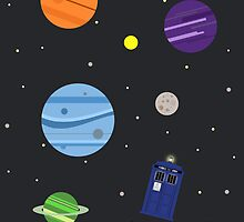 Through Space and Time by ashden