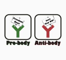 Pro-body vs Anti-body by CellDivisionLab