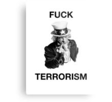 F Terrorism Metal Print