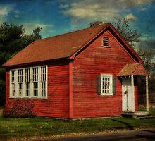 Old School in Clover Twp by vigor