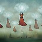 Heads inside a dream by Amanda  Cass