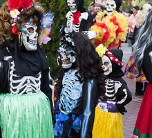 Three Calaveras Children by effie2