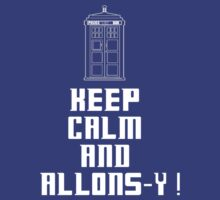 KEEP CALM AND ALLONS-Y! by superedu