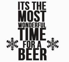 Its The Most Wonderful Time For A Beer by Alan Craker