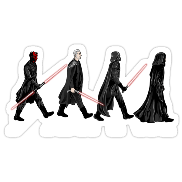 Sith on Abbey Road by oliviero