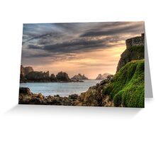 Alderney Sunset Greeting Card
