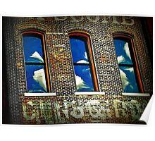 WonkyTonk Nashville Blues Poster