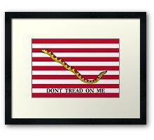 Navy Jack Framed Print