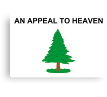 An Appeal To Heaven Canvas Print