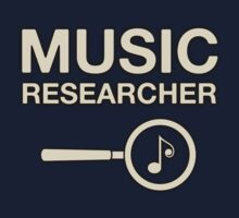 Music Researcher decoration Clothing & Stickers	 by goodmusic