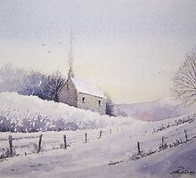 """ Winters Cottage "" by Andrew Lucas"