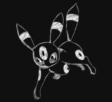Sketchy Umbreon by Minette Wasserman
