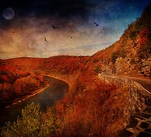 Hawks Nest Along the Delaware by PineSinger