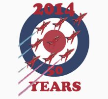 50 Years Of The Red Arrows Tee Shirt T-Shirt