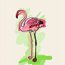 flamingo by OlgaBerlet