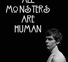 All Monsters Are Human [Kit Walker] [POSTER] by Milk & Coffee