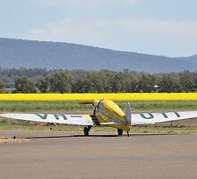 Klemm Eagle VH-UTI @ Cowra Airport, Australia 2013 by muz2142