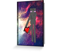 Enderlove Greeting Card