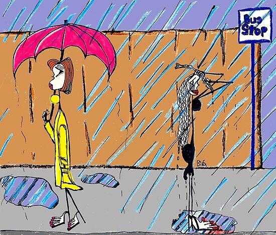 Raining by Alberto  DeJesus