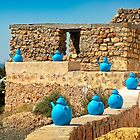 Berber Village - Tunisia by Alan Robert Cooke