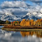 Autumn in the Grand Tetons by Kathleen Bishop