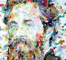 HERMAN MELVILLE watercolor portrait.2 by lautir