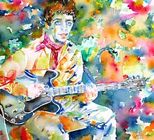 LOU REED playing the GUITAR by lautir