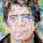 LOU REED watercolor portrait.1 by lautir