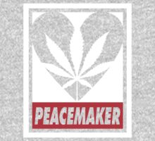 Budding Hearts - Peacemaker, Logo Big Inverted Red by alexcaughtfire