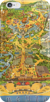 Vintage Early 1970's Disneyland Map by DisneyGeek