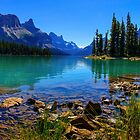 Maligne Lake, Jasper National Park, Canada by bevanimage