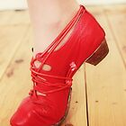 Red Dancing Shoes II by KirstyStewart