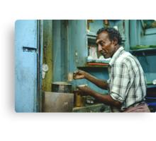 Chai in Madurai  Canvas Print
