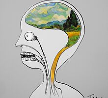 thinking like vincent by Loui  Jover