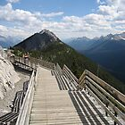Sulphur Moutain Banff Canada by mike421