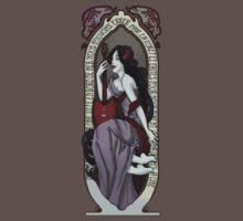Adventure Time Art Nouveau-Marceline by StudioFaeX