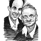 Caricature - Ant & Dec by Jan Szymczuk
