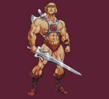 He-Man by droidwalker