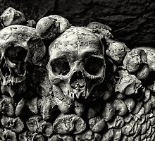 Catacombes de Paris, France by Wendy  Rauw