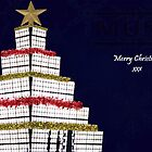 Muse Stage Christmas Card by -DeadStar-